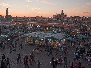 12-Day Tangier to Erg Chebbi, Merzouga, Chefchaouen, Volubilis, Meknes, Azrou, Ouarzazate, Marrakech, Essaouira, Casablanca and Rabat Tour