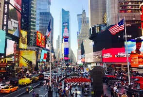 2-Day Boston to New York City and Time Square New Year's Eve Countdown Tour