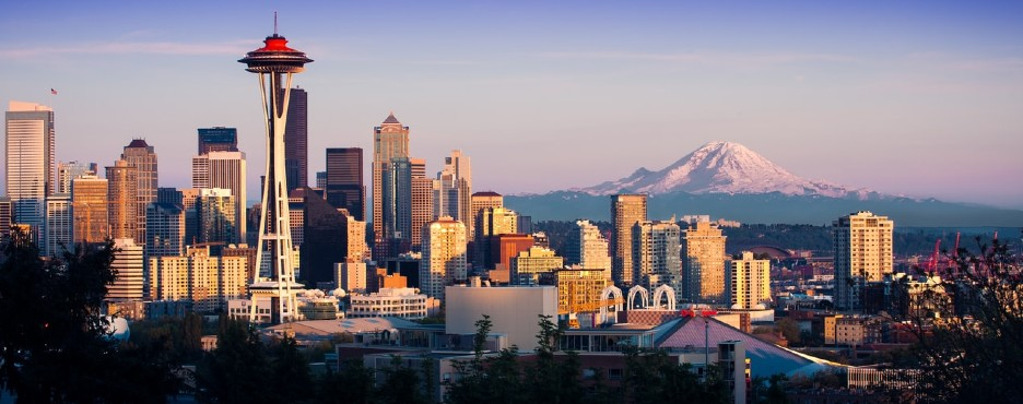 3-Day Seattle to Mount Rainier NP, Snoqualmie Falls, Leavenworth German Town and Seattle City Sightseeing Tour