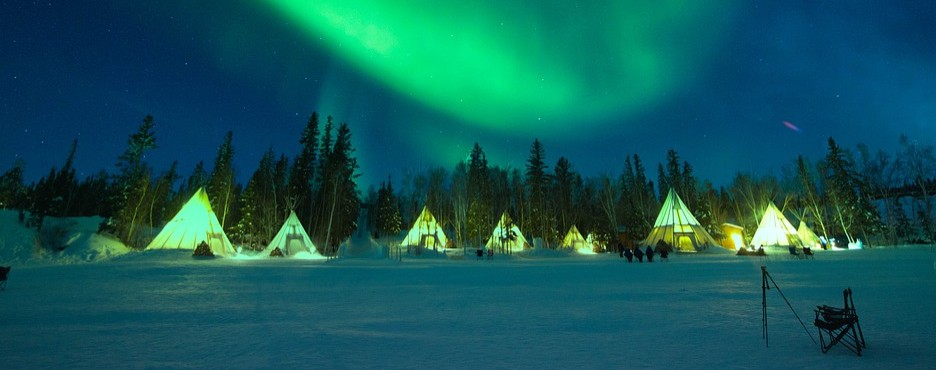 3-Day Yellowknife to Great Slave Lake and Aurora View Tour