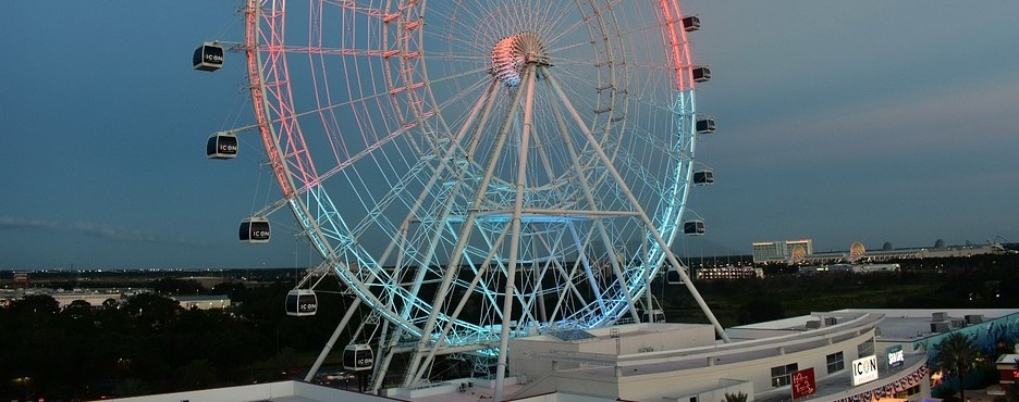 5-Day Orlando to Kennedy Space Center, Orlando Eye, Madame Tussauds, Orlando Theme Parks and Shopping Outlet Tour (Free Airport Pickup)