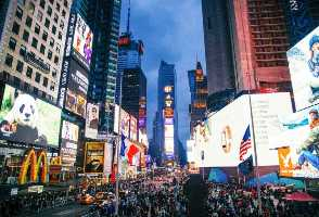 2-Day Boston to Woodbury Outlets and New York Times Square New Year's Eve Countdown Tour