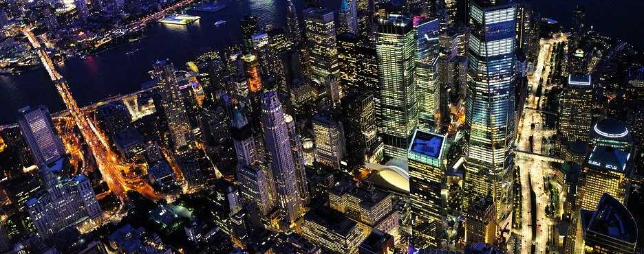 Hop On Hop Off, Double Decker Bus - New York City Night Tour (6PM to 9PM Single Entry Pass)