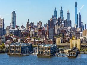 2-Day New York/New Jersey to Philadelphia Observation Deck, Ice Sculpture, Adventure Aquarium and Christmas Village Tour